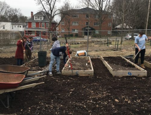 April 2019  Mazza Community Garden