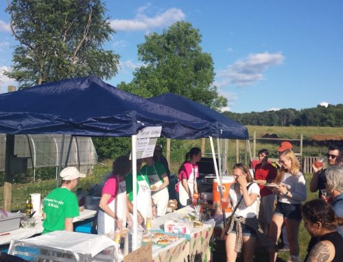 Taproot Celebrates Summer Solstice at the PSU Student Garden